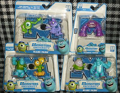Monsters University - Set Of 7 Small Figures