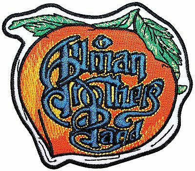 Allman Brothers Band Peach Fruit Logo Blues Rock Music Iron On Applique Patch