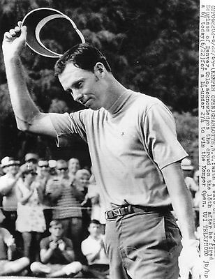 Vintage Original Golf Photograph Dale Douglass Winner Kemper Open Charlotte 1969