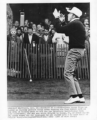 Vintage Original Golf Photograph Steve Spray Winning Moment San  Francisco 1969
