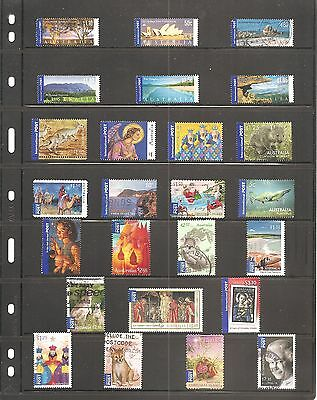 Collection Of  25 Australia  International  Fine Used   Stamps  (  B)