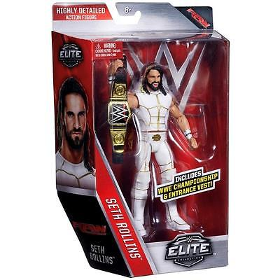 SETH ROLLINS Elite 45 WWE Mattel Brand New Action Figure Toy In Stock - MINT