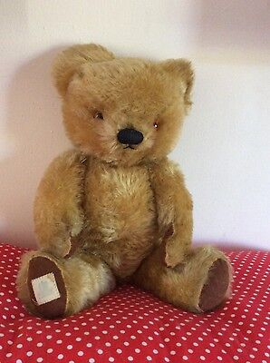 Chad Valley Bear Large Lovely Plush VGC 40cm Tall