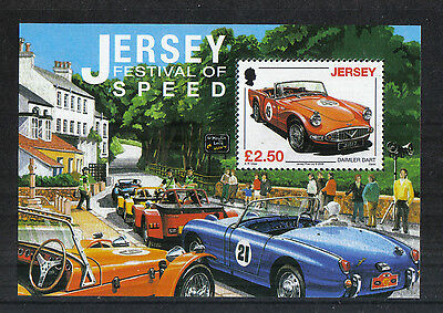 Jersey 2008 Festival of Speed ss--Attractive Car Topical (1334) MNH