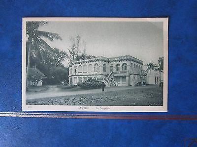 Carte Postale CPA Indochine Cantho Le Bungalow.