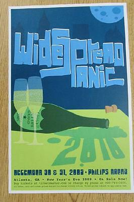 Widespread Panic Wsp Atlanta 2009 Concert Poster New Years