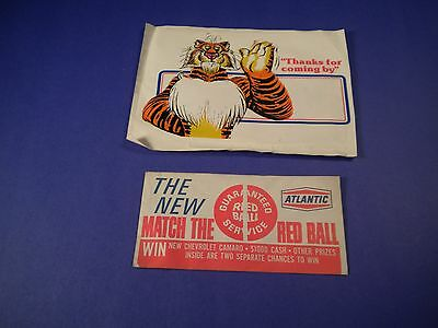 Vintage New Atlantic  Red Ball Ticket & Free Gift