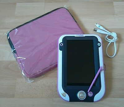 Leapfrog Leappad Ultra in pink with new case