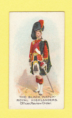 Military  -  Wills  Flag  -  The  Black  Watch  Royal  Highlanders  -  1912