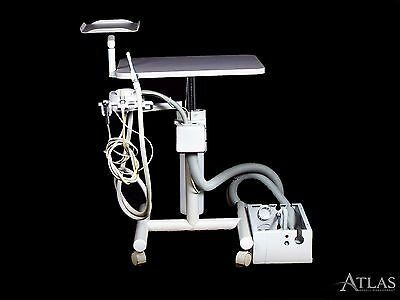 Beaverstate Dental Assistant Delivery Cart w/ SE, HVE, & Air-Water Syringe