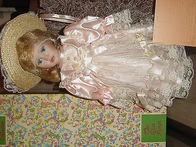 The Leonardo Collection Porcelain Doll with Certificate and Box
