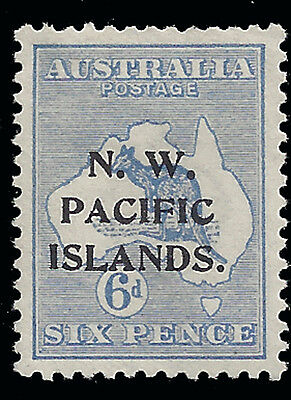 North West Pacific NWPI Stamp 1915 6d Roo (SG78) Mint £110/$140