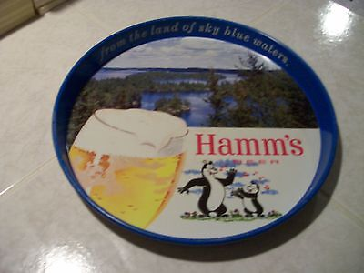 "Vintage Hamm's ""the Beer Refreshing"" Bar Serving Tray-Collector's Piece $$$$$$$$"