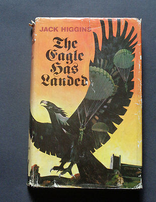 THE EAGLE HAS LANDED by Jack Higgins: War Fiction / World War Two / 1st edt 1975