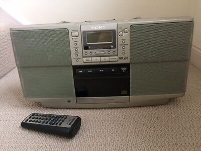 Sony Portable Radio / Cd / Tape Player. Personal Audio System ZS-D50