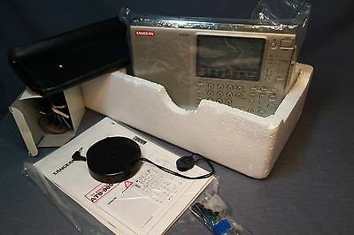 SANGEAN ATS 909 NEW Open Box Complete With All Accessories Tested Works GREAT