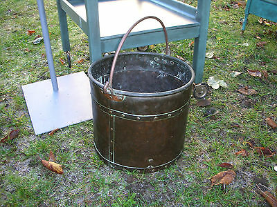 Copper Arts And Crafts Bucket