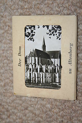 A collection of 10 Altenberg mini postcards from the mid 1900s.