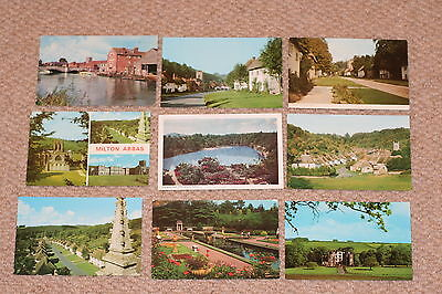 A collection of Dorset postcards from the 1900s.