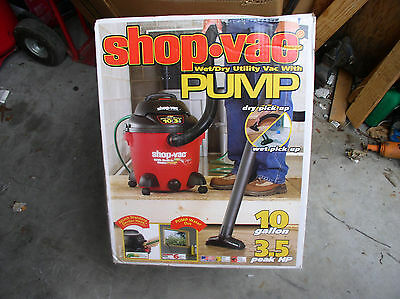 SHOP-VAC WET/DRY UTILITY VAC WITH PUMP  *****FREE SHIPPING***** New in Box