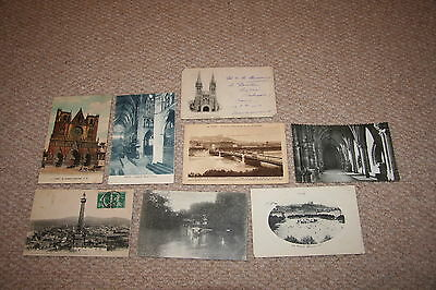 A collection of Canada postcards from the 1900s.