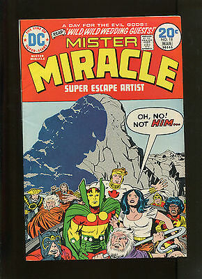 Mister Miracle #18 (7.5) Darkseid Cover