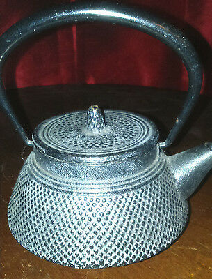 Japanese Cast Iron Tea Pot With Integral Strainer