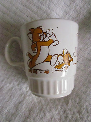 1970's Tom And Jerry Kilncraft Mug - Brown Colourway