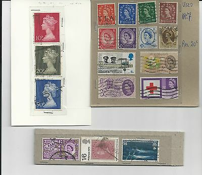 Great Britain - Small Selection Of Used Stamps - Gb15