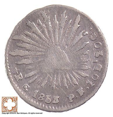1853 Mexico 1/4 Real *5926