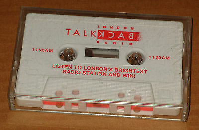 London Talkback Radio 1152 AM Promotional Competition Casette 1990s