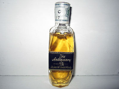miniature mignon whisky ANTIQUARY 12 years old