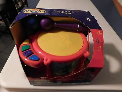 The Wiggles - Rock and Roll Drum 2004  New