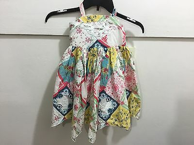 Toddler girls size 14 designer new with tags sundress