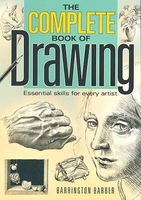 NEW The Complete Book of Drawing By Barrington Barber Paperback Free Shipping