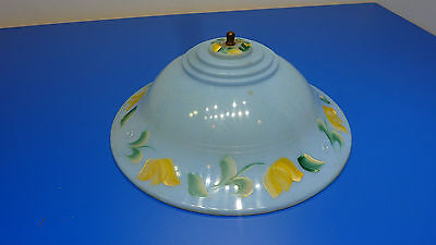 Vintage Plastic Slip on Bulb Mount Light Shade,USED,No Fixture Just The Shade