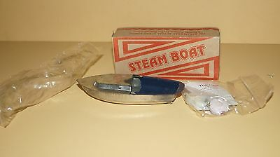 TIN 1920's STEAM BOAT RATTANDEEP TOY -NEW IN CARTON