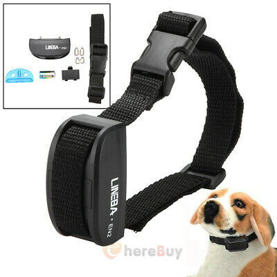 4 in1 1000 FT Rechargeable Waterproof Dog Shock Vibrate Beep Remote Train Collar