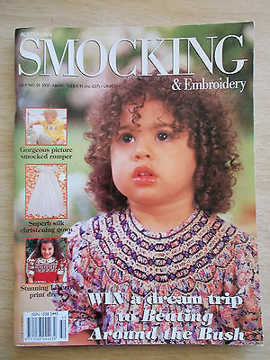 Australian Smocking & Embroidery #50~Dresses~Christening Gown~Rompers~Petticoats