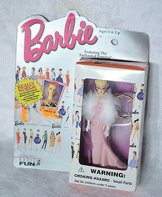 BARBIE Enchanted Evening KEYCHAIN Features movable arms & head 1996 Basic Fun