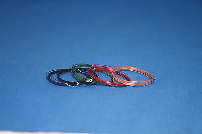 Peddinghaus 1/div. 3202 various painted Copper wires for Wiring loom 0,35