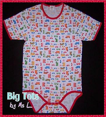 Adult Baby Transportation bodysuit *Big Tots Exclusive*