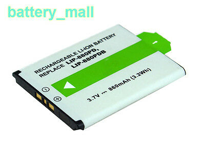 860mAh MP3 Battery for Sony LIP-880 LIP-880PD LIP-880PD-B NW-HD5S(20GB)