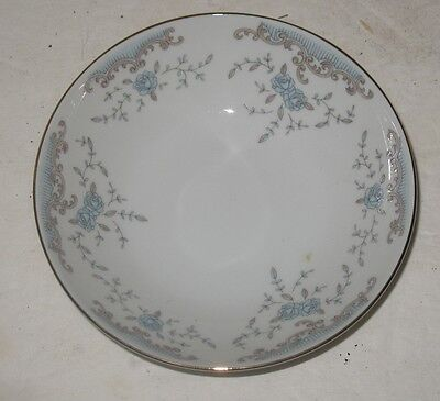 "Imperial China Seville W Dalton 5.5"" Berry Fruit Bowl Replacement Blue Rose Gold"