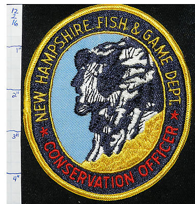 New Hampshire Fish & Game Dept Conservation Officer Patch