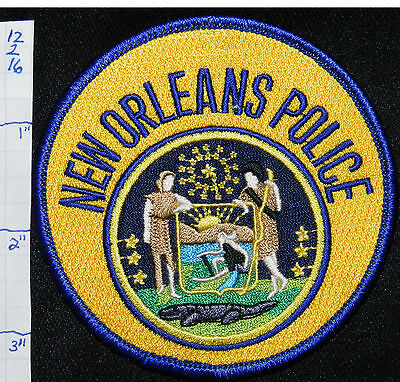 Louisiana, New Orleans Police Patch