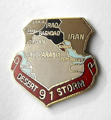 Desert Storm 1991 Veteran Lapel Pin Badge 1 inch