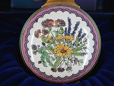 """HALCYON HINGED TRINKET BOX - """"The Winter's Tale"""", William Shakespeare, Flowers"""