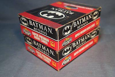 1991 Topps Batman Returns Trading Card Box 36 Sealed Packs, 540 Cards
