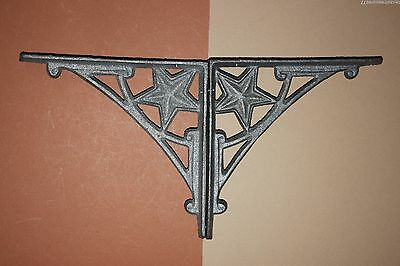 (10),shelf Brackets,lone Star,western,shelf Bracket,cast Iron Shelf Bracket,b-13
